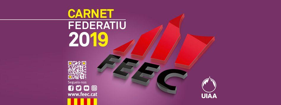 baner carnet federatiu FEEC