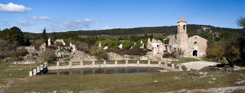 Foto poble La Mussara